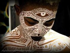 Ori Ritual Face Painting by Laolu photo by Aya Shanti.JPG