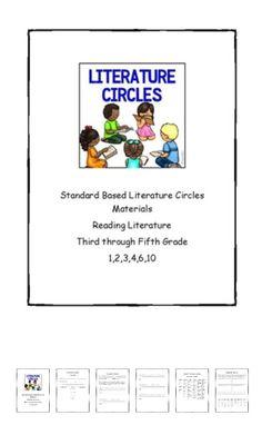 FREEBIE - Literature Circles Materials