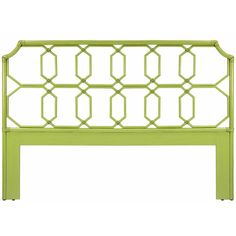 Regency Rattan Headboard - Green