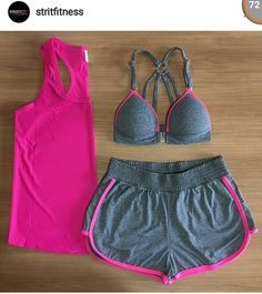 Lazy Day Outfits, Sporty Outfits, Hot Outfits, Athletic Outfits, Fashion Outfits, Workout Attire, Workout Wear, Cute Running Outfit, Polyvore Casual
