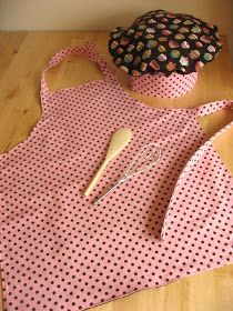 DIY:: Kid's Apron & Chef Hat.