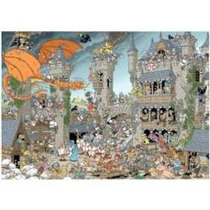 The Castle (Pieces of History) Cartoons Jigsaw Puzzle