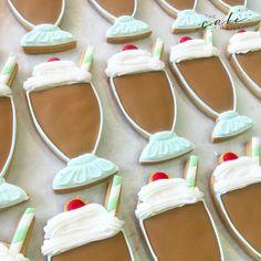 Call or email to order your celebration cookies today! Cupcake Wars, Chocolate Milkshake, Cookie Designs, Custom Cookies, Royal Icing, Dessert Table, Food Network Recipes, Cookie Decorating, Sugar Cookies