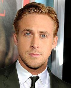 Ryan Gosling in Elegant hairstyles