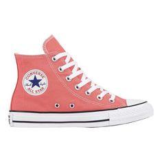 Converse Chuck Taylor All Star High Top Sneaker - Punch Coral Sneakers Cute Converse, Converse High, Converse Shoes, Ankle Sneakers, Cute Sneakers, High Top Sneakers, Fancy Shoes, Me Too Shoes, Sock Shoes
