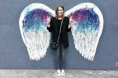 Angel wings - Street Art/Los Angeles Downtown