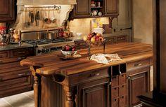 Wood-Mode's Custom Old World Cabinetry - Small