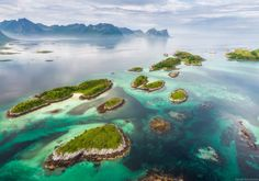 The Lofoten Islands in Norway