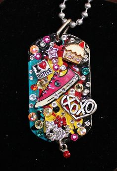 Hello Kitty little girl  Love Dog Tag by Forever peace