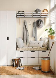 Διακόμενα εμφάνισηρόμου: τα επιπλέον 50 του The Έπιπλα Nordli Ikea, Ikea Pax, Ikea Entryway, Ikea Hallway, House Entrance, Room Inspiration, Diy Home Decor, Home Decoration, Sweet Home