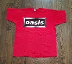 Oasis 1994 US Tour T Shirt! Original From 1994 Tour. 100% Cotton. | eBay!