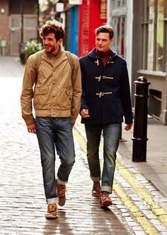 men's British style shoes