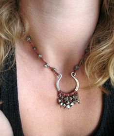 Missficklemedia.com: Bohemian Style Jewelry. I really like this idea.