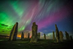 """nubbsgalore: """" photos by colin cameron from his home in the isle of lewis, in the outer hebrides. the island is home to the callanish standing stones, seen in several of the photos, which were erected. Beautiful Photos Of Nature, Beautiful Landscapes, Beautiful World, Pretty Photos, Infinity Wallpaper, Weather Storm, World Pictures, Beautiful Architecture, The Life"""