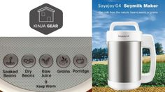 Soyajoy: Save Money Making Your Own Soy Milk and More