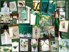 #emerald #green #wedding