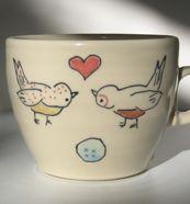 Abby Berkson!  #ceramics #baby #tabletop #mugs #coffee # tea