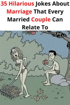The divorce rate in America is plummeting. That means that there's never been a better time to laugh at a good-humored marriage joke!