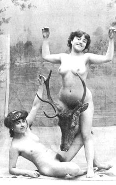 Ummmmmm No Playing With Your Food Vintage Couples 1930s Burlesque Erotica