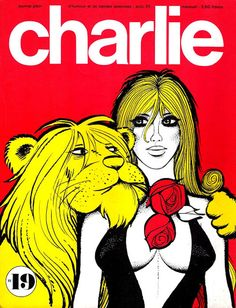 CHARLIE Seventies French adult comix mag.