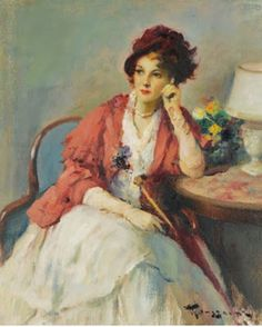 Belgian Fernand Toussaint 1873-1955