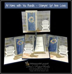 June Global Stampers Challenge featuring At Home with You Bundle by Stampin' Up! Check out video and instructions on how you can create this card