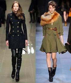 military coats..yeah