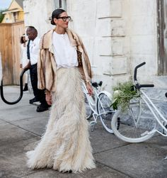Jenna Lyons Wedding Guest Outfit - Jenna Lyons at Solange Knowles' Wedding - Elle