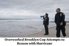 NYPD response to Hurricane Sandy