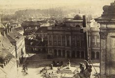Warsaw, Poland, 19 c. by Karol Beyer Old Photographs, Old Photos, Nicolaus Copernicus, Poland History, Central Europe, Krakow, Old City, Beautiful Places To Visit, Countries Of The World