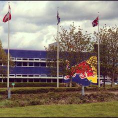 Red Bull Formula 1 factory