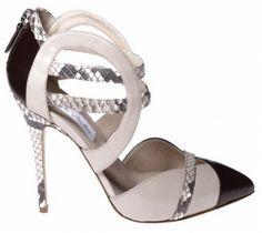 Monique Lhuillier Bridal Shoe Collection Fall 2013: Feminine, Romantic and a little bit Rocking