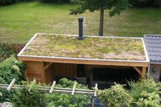 Veranda dak on pinterest green roofs sheds and chicken coops - Prieel tuin ...