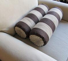bolster pillows - the Bolster Queens @ Etsy $80.00