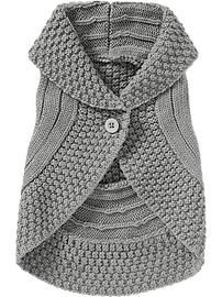 $25 OLD NAVY Shawl-Collar Sweater Vests for Baby