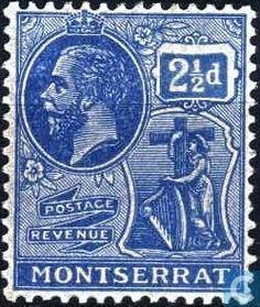 Montserrat - King George V 1922