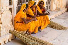 Break time at Amber fort, Rajasthan, India