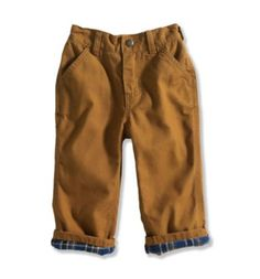 Carhartt - Product - Boys Infant/Toddler Washed Duck Dungaree