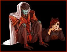 weissidian:  X More Shepard and Javik brotimes (not really) I made this because I wanted a cute new background image on my main blog for the month, and Javik and Shep are both p cute.