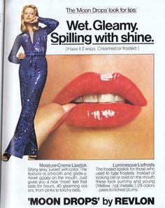 Revlon ad scanned from Viva , October Vintage Makeup Ads, Vintage Nails, Retro Makeup, Vintage Beauty, Makeup Advertisement, Retro Advertising, Vintage Advertisements, 70s Fashion, Fashion Beauty