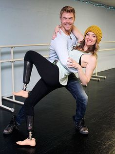 DANCING WITH THE STARS - DEREK HOUGH & AMY PURDY!