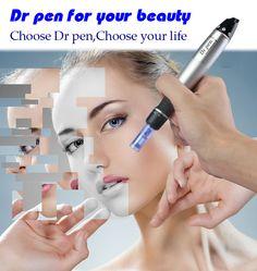 Newest Dr Pen Microneedle Derma Pen For Salon Use Professional Dermapen 6 Speeds With 2pcs Needle Cartridges For Skin Rejuvenat