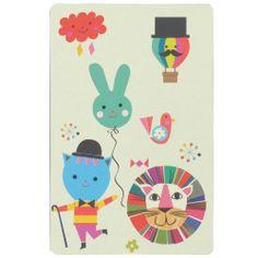 mini circus playing cards from Paperchase