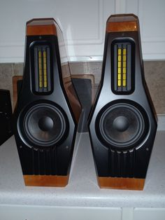 """Lawrence Audio - Mandolin Ribbon ,Audiophile High End Monitor Speakers"""