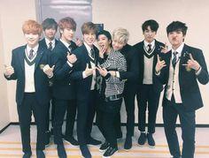 Jackson with BTS