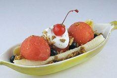 Watermelon Blueberry Banana Split....all fruit! Fun for Kids ...