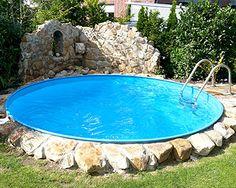 Der eigene pool im garten sorgt auch zu hause f r das for Stahlwandbecken obi
