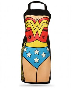 Wonder Woman Apron LOVE