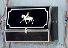 grooming box 23 and three fourths inches x 19 inches LDH Western Horse Tack, Western Saddles, Horse Tack Rooms, Barrel Racing Tips, Tack Box, Tack Store, Tack Trunk, Barn Signs, Horse Supplies