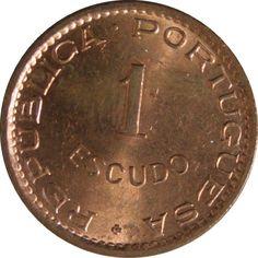 Ek // 1 Escudo Angola Portuguese 1974 UNC   eBay